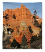 Red Canyon - Scenic Byway 12 Fleece Blanket