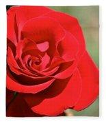 Red Carpet Rose Fleece Blanket