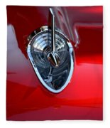 Red Chevy Hood Ornement Fleece Blanket