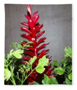 Red Cone Ginger - No 1 Fleece Blanket