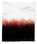 Red Dawn Fleece Blanket