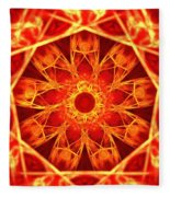 Red Dynasty Fleece Blanket