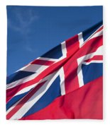 Red Ensign Fleece Blanket