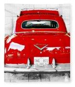 Red Fleetwood Fleece Blanket