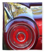 Red Ford Tailight Fleece Blanket