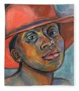Red Hat Lady Fleece Blanket