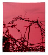 Red Haze Fleece Blanket