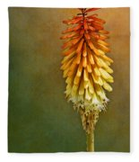 Red Hot Poker Fleece Blanket