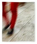 Red Hot Walking Fleece Blanket