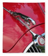 Red Jaguar 3.8 Fleece Blanket