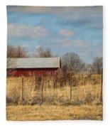 Red Kentucky Relic Fleece Blanket