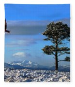 Red Kite Fleece Blanket