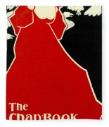 Red Lady The Chap Book1895 Fleece Blanket