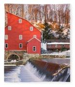Red Mill Clinton New Jersey Fleece Blanket