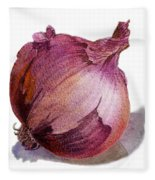 Red Onion Fleece Blanket