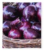 Red Onion Fleece Blanket