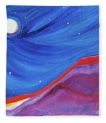 Red Ridge By Jrr Fleece Blanket