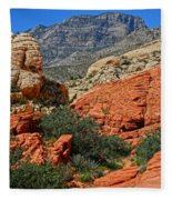 Red Rock Canyon 6 Fleece Blanket