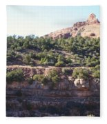 Red Rock Canyon In Arizona Fleece Blanket