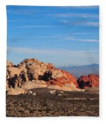 Red Rock Canyon Las Vegas Fleece Blanket