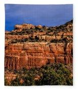 Red Rock Crag Fleece Blanket