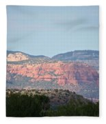 Red Rock Evening Fleece Blanket