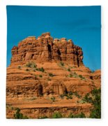 Red Rock Formation Sedona Arizona 21 Fleece Blanket
