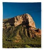 Red Rock Formation Sedona Arizona 30 Fleece Blanket