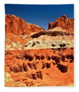 Red Rock Ridges Fleece Blanket