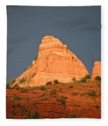 Red Rock Rising Fleece Blanket