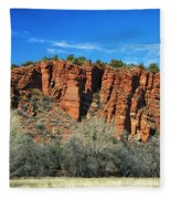 Red Rock State Park Fleece Blanket