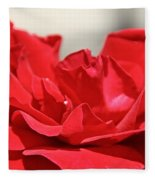 Red Rose Red Rose Fleece Blanket