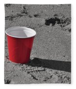Red Solo Cup Fleece Blanket