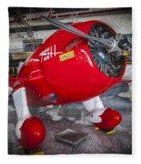 Red Speedster Fleece Blanket