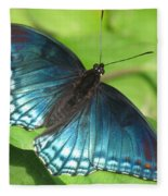Red-spotted Purple Fleece Blanket