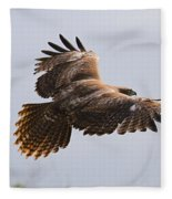 Red Tail Take Off Fleece Blanket