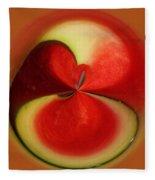 Red Watermelon Fleece Blanket