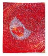 Red Whirlpool Fleece Blanket