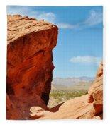 Redstone Canyon Fleece Blanket