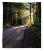 Redwood Magic Fleece Blanket