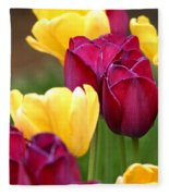 Redyellowtulips6728 Fleece Blanket
