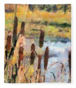 Reedmace Fleece Blanket