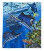 Reef Frenzy Off00141 Fleece Blanket