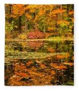Reflecting Colors Fleece Blanket