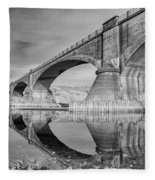 Reflecting Fernbridge Fleece Blanket