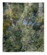 Reflection Art Fleece Blanket