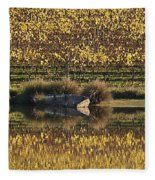 Reflection-country-victoria  Fleece Blanket