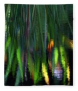 Reflection In The Pond Fleece Blanket