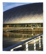 Reflection Of The Glasgow Science Fleece Blanket