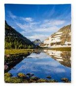 Reflection Pool Fleece Blanket